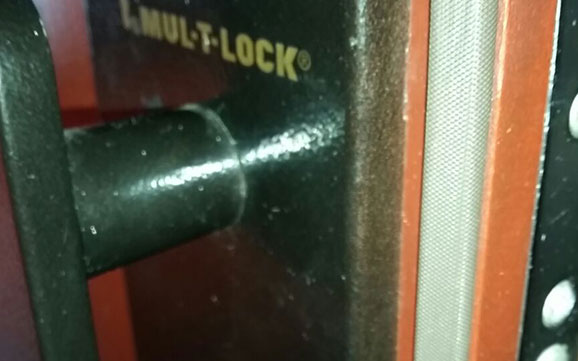 Multi-Lock Steel Door